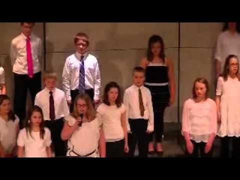 Altoona school chorice concert (concert edicate rap song)