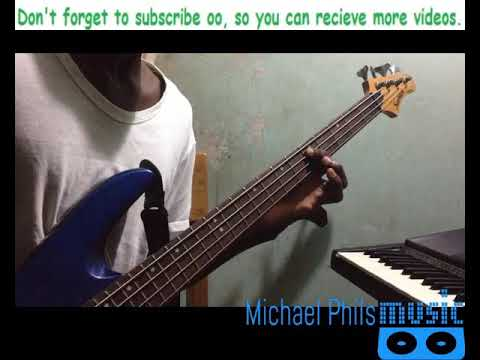 "Bass line tutorial of ""I love you forever"" by Tye Tribbett"