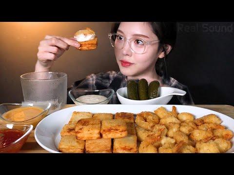 eng-sub)menbosha-&-coconut-shrimp-mukbang-asmr-korean-eating-show