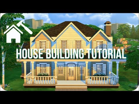 Step By Step House Tutorial Sims 4 How To Build A House Youtube