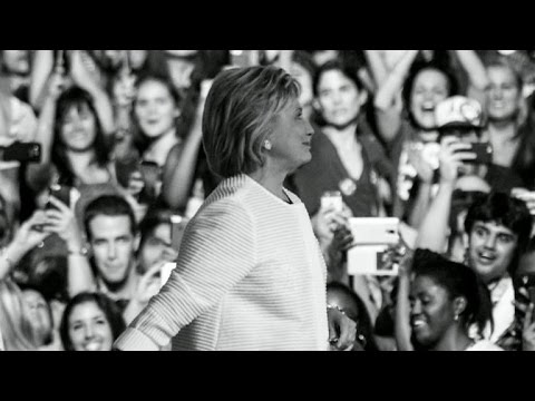 Morgan Freeman narrates Hillary Clinton DNC biography video