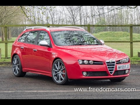 alfa romeo 159 sportwagon 1 9 jtdm 16v ti q tronic 5dr youtube. Black Bedroom Furniture Sets. Home Design Ideas
