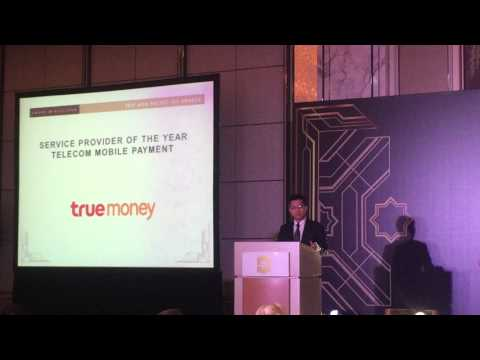 TrueMoney Named 2017 Asia Pacific Mobile Payment Service Provider