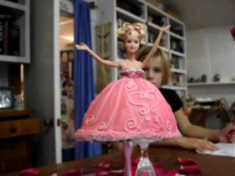 Ballerina Barbie Cake Youtube