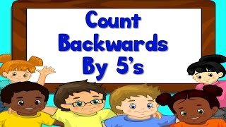 Count Backwards by 5's from 100   Learn to Count   Kids Counting Song   Jack Hartmann
