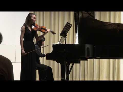 Xin Wen Violin Recital at HMTM Hannover 03.11.16