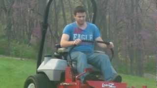 Exmark 60 Lazer Z ZTR Cuts Thick Green Field Grass...HD