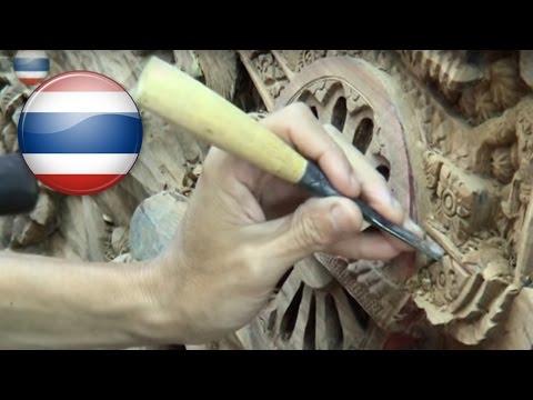 Thailand -👑-Wooden FURNITURE -🔨- Royal Thai Handicraft Center