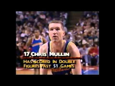Chris Mullin: 37 Points Vs Detroit (1-19-1990)