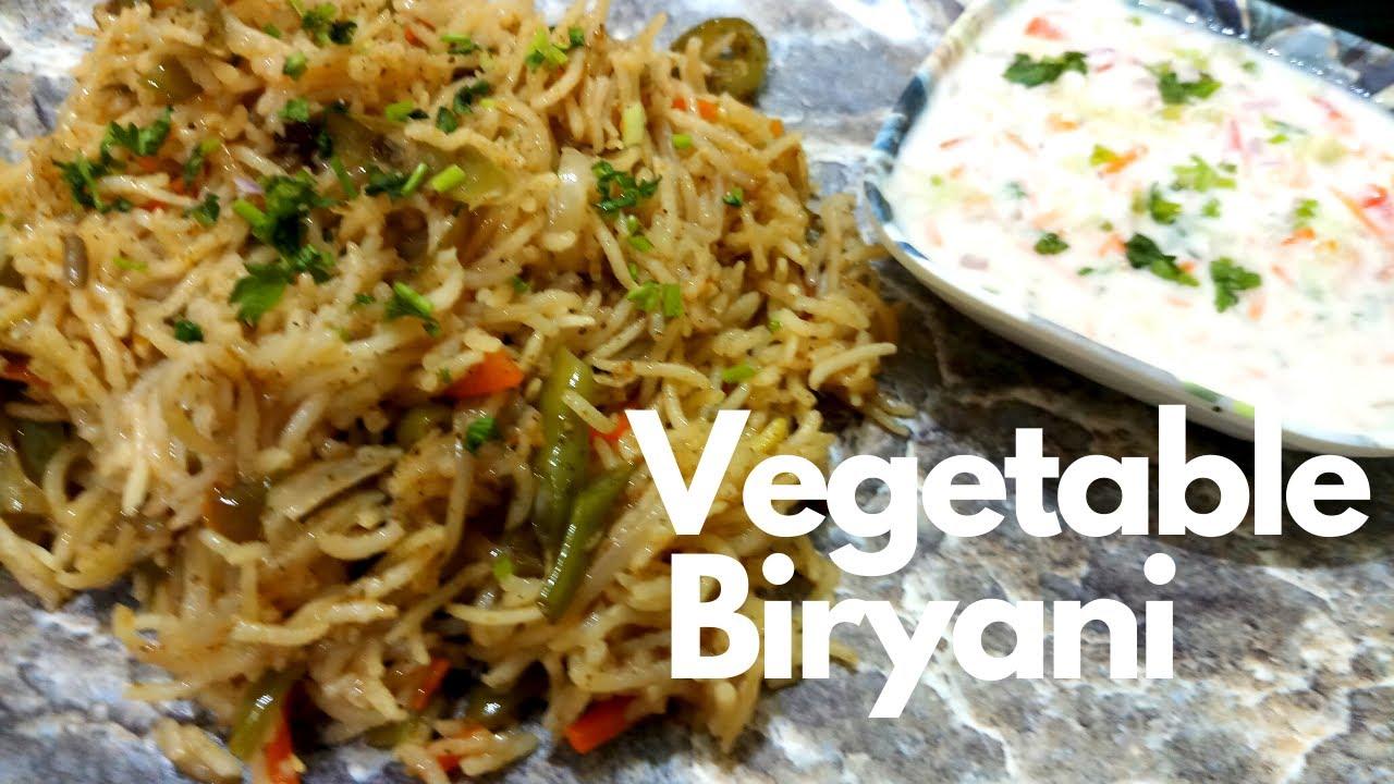 how to make veg biryani recipe in hindi