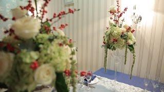 День 2: Декор банкетных столов ☆курс свадебной флористики и декора☆