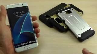 """ОБЗОР: Противоударный Чехол-Накладка для Samsung Galaxy S7 Edge Duos SM-G935F Серия Armor """"SGP"""""""