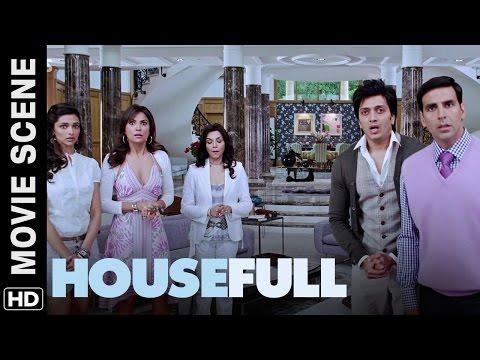 Aa Toh Dambar No Tukdo Che! Housefull | Movie Scene