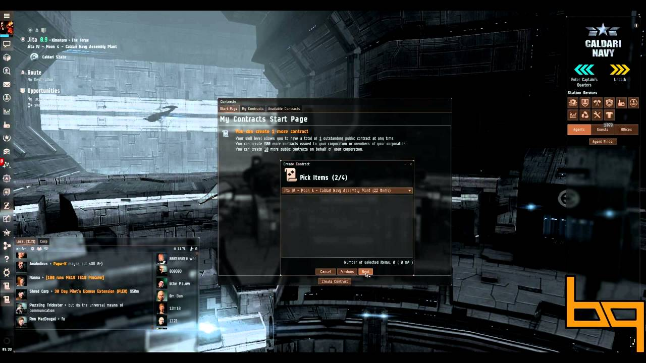 BQ Guide Series For EVE Online How To Create Public Contract YouTube - Create contract online