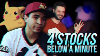 4 Stocks That End in Under a Minute - Super Smash Bros. Melee