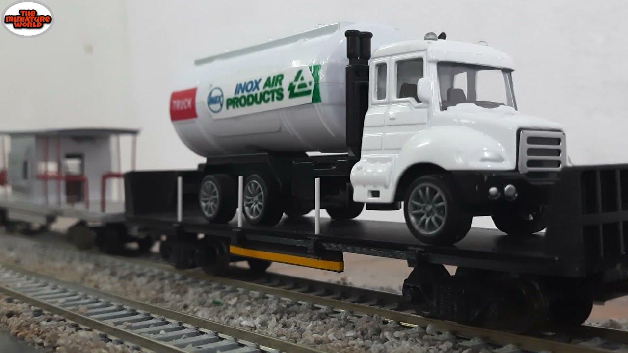 Oxygen Express Model Train | Wap 4 Hauling Freight Train | INDIAN RAILWAYS