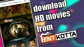 How To Download Tentkotta Movies | Technology Tamilan