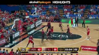 Grand Final Game Three - Perth Wildcats vs Illawarra Hawks Highlights
