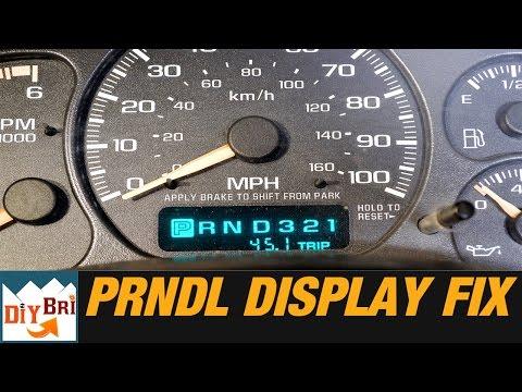 how-to-fix-prndl-odometer-display-on-gm-trucks