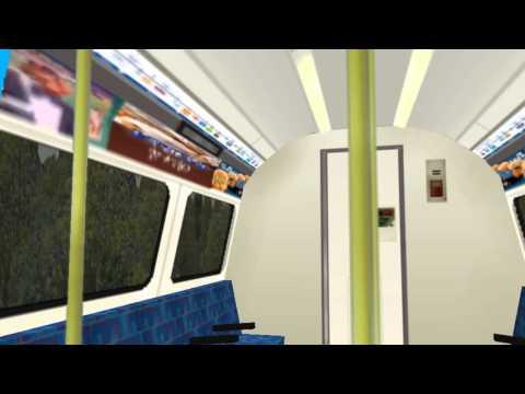 OpenBve Jubilee Line Canons Park To Queensbury Realstic