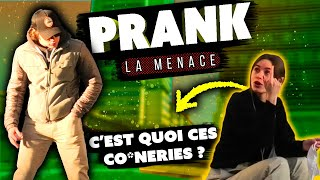 """ÇA TE DIT UN PLAN À 3 ?"" - PRANK LA MENACE"
