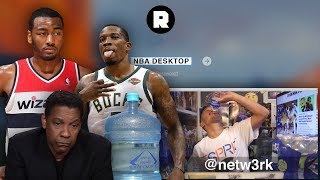 Forgetful Bledsoe, Washed Wizards, and NBA Water | NBA Desktop With Jason Concepcion | The Ringer