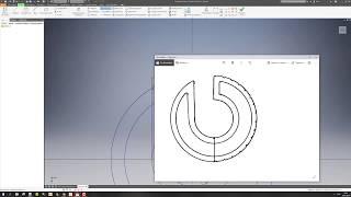 Логотип и готовое изделие в Autodesk Invertor 2018 хороший аналог арткам 2018