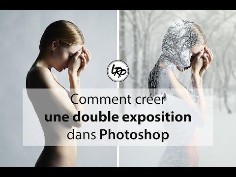 Comment Créer une DOUBLE EXPOSITION dans PHOTOSHOP