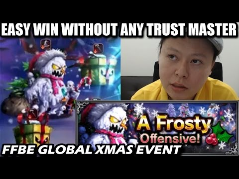 A Frosty Offensive - Easy Win Without Any Trust Master (FFBE Global)