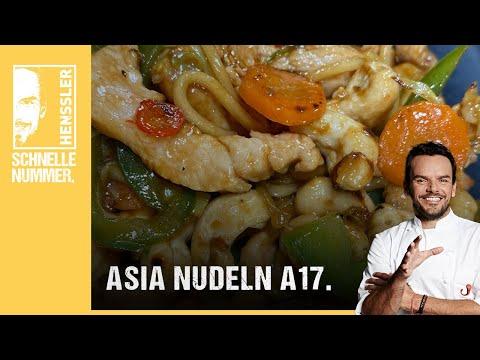 Schnelles Asia Nudeln A17-Rezept von Steffen Henssler