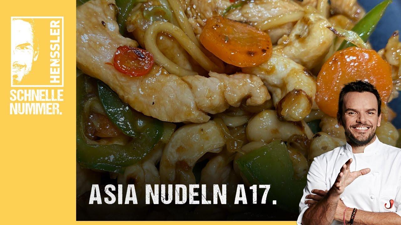 Download Schnelles Asia Nudeln A17-Rezept von Steffen Henssler