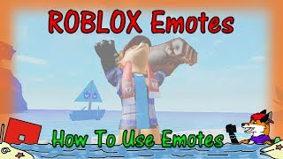 ROBLOX - How To Use Emotes! #1 - HD