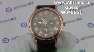 Обзор. Мужские наручные часы Guess W0496G1(, 2016-05-24T17:17:18.000Z)