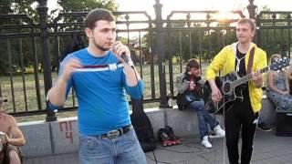 Московский уличный рэп.AVI
