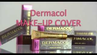 Dermacol MAKE-UP COVER video tutorial.