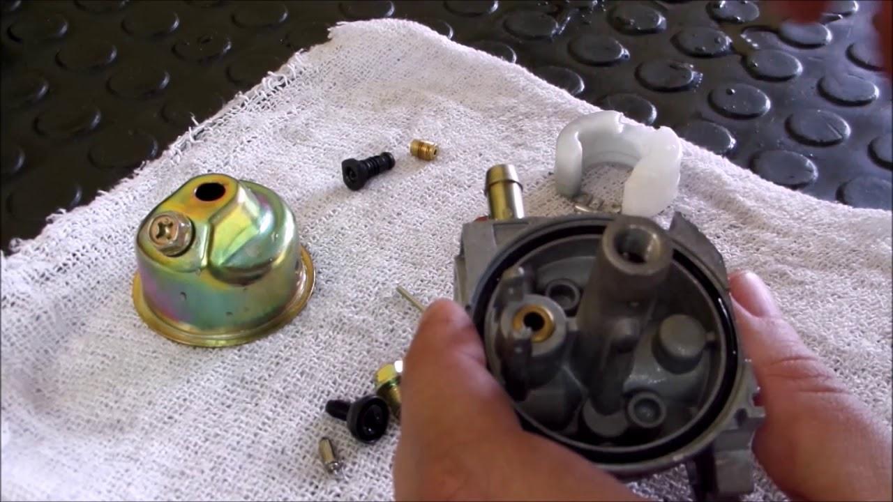 Revisão Cortador de Grama Trapp MC600G - 3/3 - Carburador