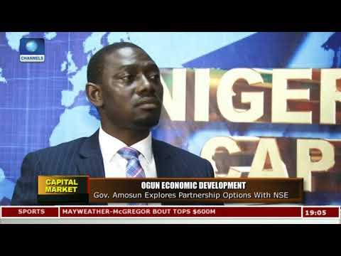 Gov Amosun Explores Partnership Options With NSE |Capital Market|