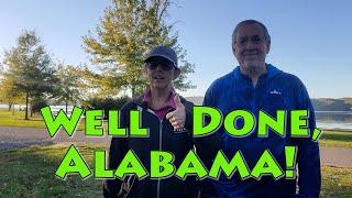 Lake Guntersville State Pąrk Campground Review Guntersville, Alabama