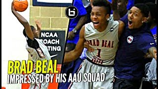 Brad Beal Gets Super HYPED as #1 PG Darius Garland & Jericole Hellems Get BBE the W at Peach Jam!!