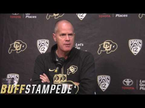 Tad Boyle at CU Media Day