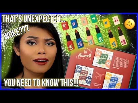 BLK COSMETICS! #BLKTRAVELS REVIEW & SWATCHES ON MORENA SKIN! NAGING EMOTIONAL!!! + GIVEAWAY