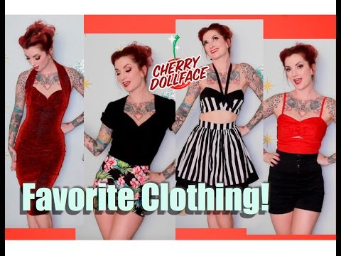 My Favorite Pinup & Rockabilly Clothing Companies! by CHERRY DOLLFACE