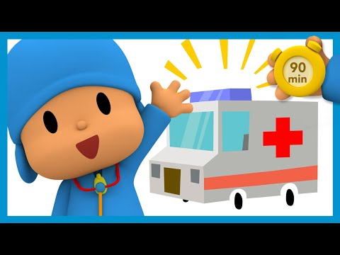 🏥 POCOYO AND NINA - Visit to the Doctor [90 minutes]   ANIMATED CARTOON for Children   FULL episodes