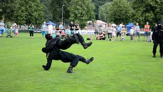 Czech Police - self-defense demonstrations