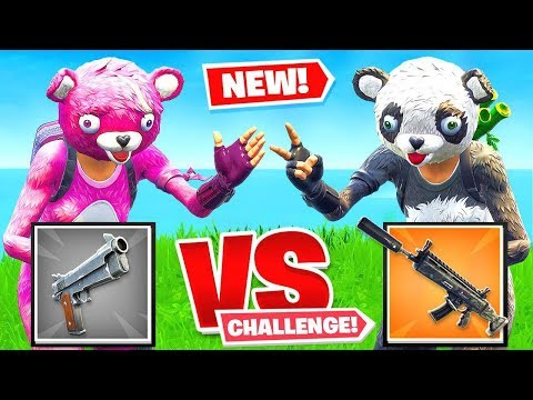 *NEW* Rock Paper SCISSORS Gun Game in Fortnite Battle Royale!