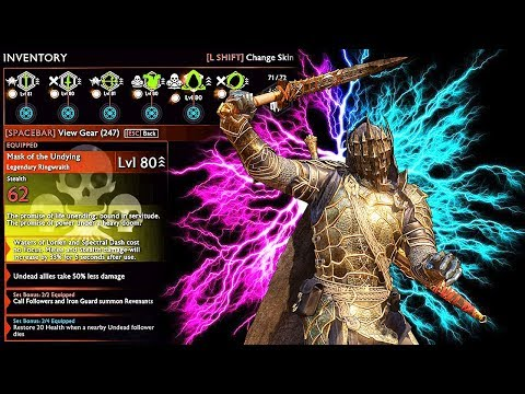 SHADOW OF WAR - UNIQUE MURDEROUS OVERLORD DARK ASSASSIN DIFFICULTY NEMESIS IN DESERT |