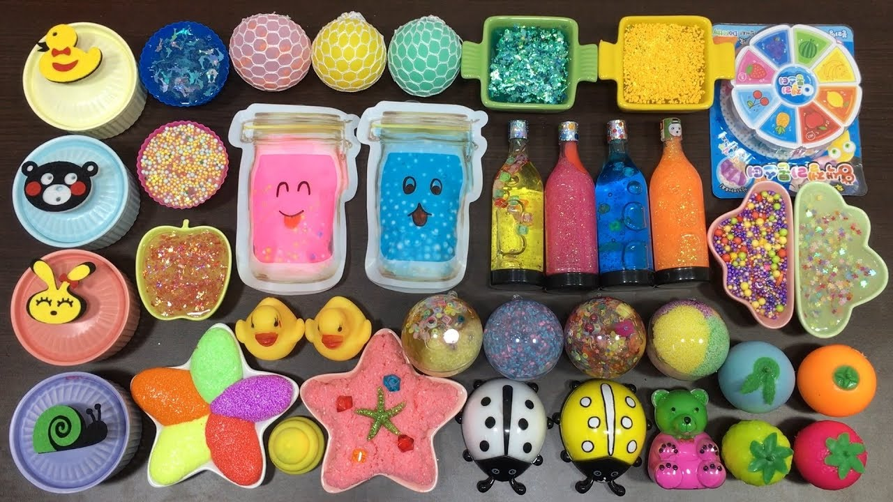 mixing-all-my-slimes-mixing-store-bought-slimes-and-homemade-slime-slimesmoothie