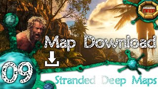 Stranded Deep Map Making [09] - Monuriki - The Island from Castaway Part 3 + DOWNLOAD !! [1080p]