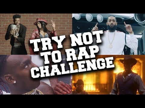 If You Rap You Lose !!! 🎤Try Not To Rap Challenge #4