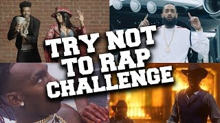 If You Rap You Lose !!! Try Not To Rap Challenge #4
